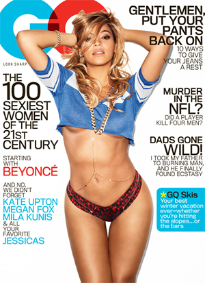 Beyonce covers GQ February 2013