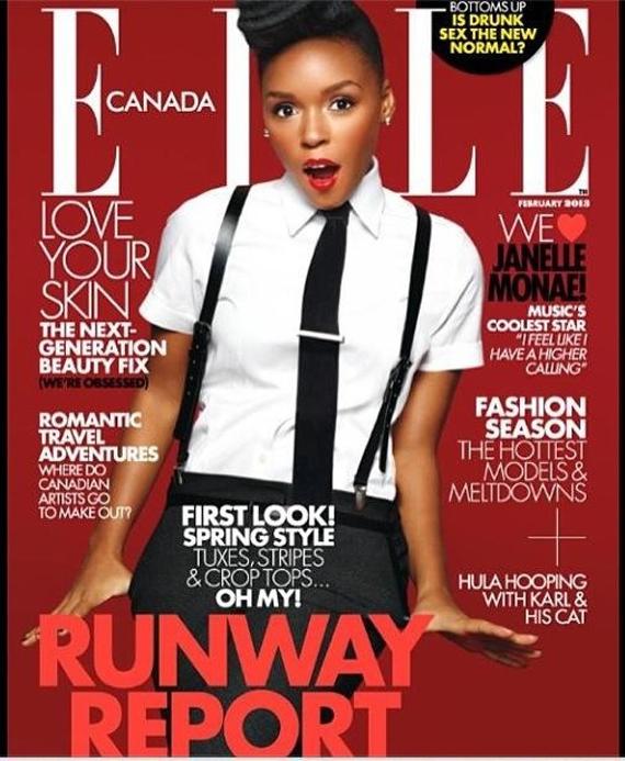 Janelle Monae Covers Elle Canada