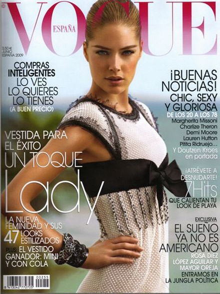 Doutzen Kroes sizzles for Vogue Espana