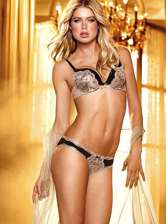 Doutzen Kroes, the Victoria's Secret angel