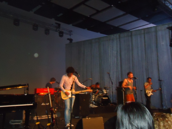 Dutch group, Chef's Special, performed at the Moses Molelekwa stage. I liked their music, a mixuture of, funk and hip hop.