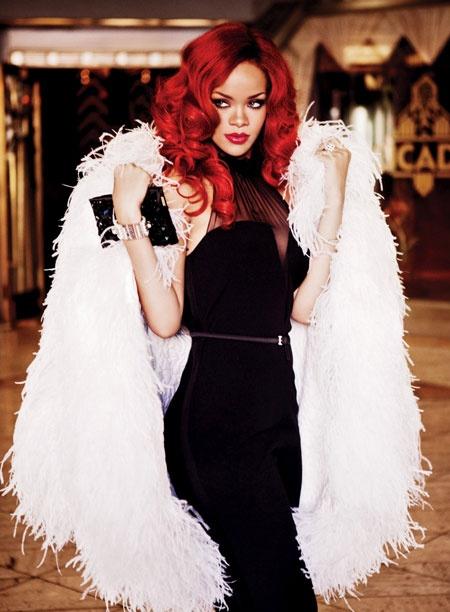 Rihanna's 60s glamour look