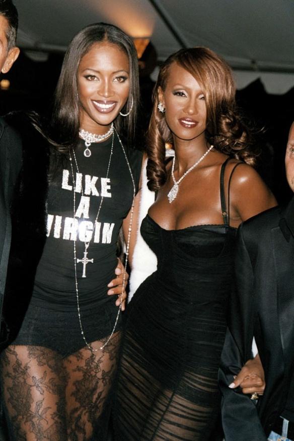 Naomi and Iman