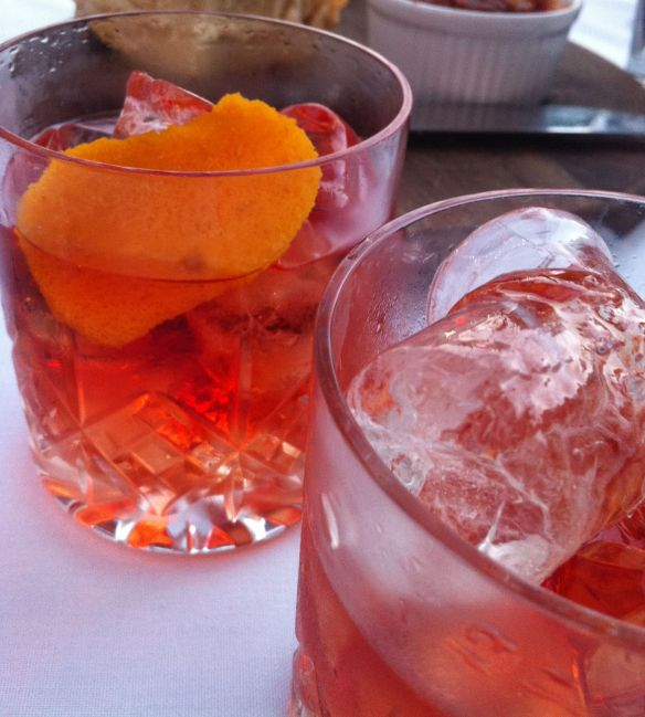 Nick's Negroni classic gin cocktail recipe