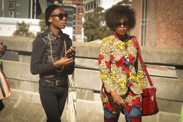 @Brat_CTVibes and I catwalking to the David Tlale show. Photo by http://skattiewhatareyouwearing.blogspot.com/2013/08/fashion-week-moments-style-people-1.html?showComment=1376293218846#c188498763616650695 … pic.twitter.com/SQ7vwcW5Jr