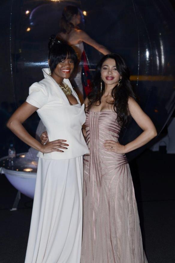 Thandie Kupe and Natalie Becker