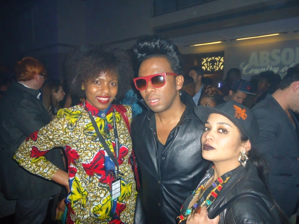 with amazing designer David Tlale. His show was my highlight.