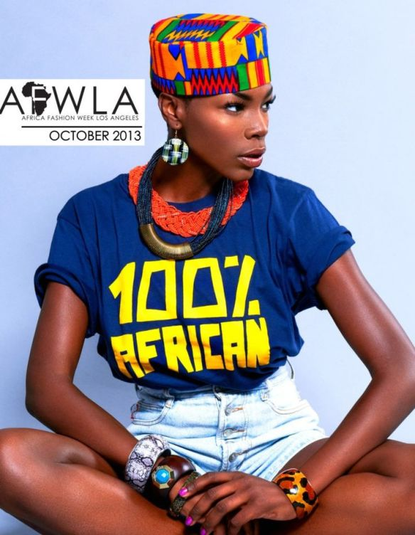 African Fashion Week LA campaign 2013