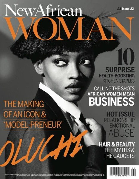 HOT COVER ALERT: Oluchi for New African Woman October 2013