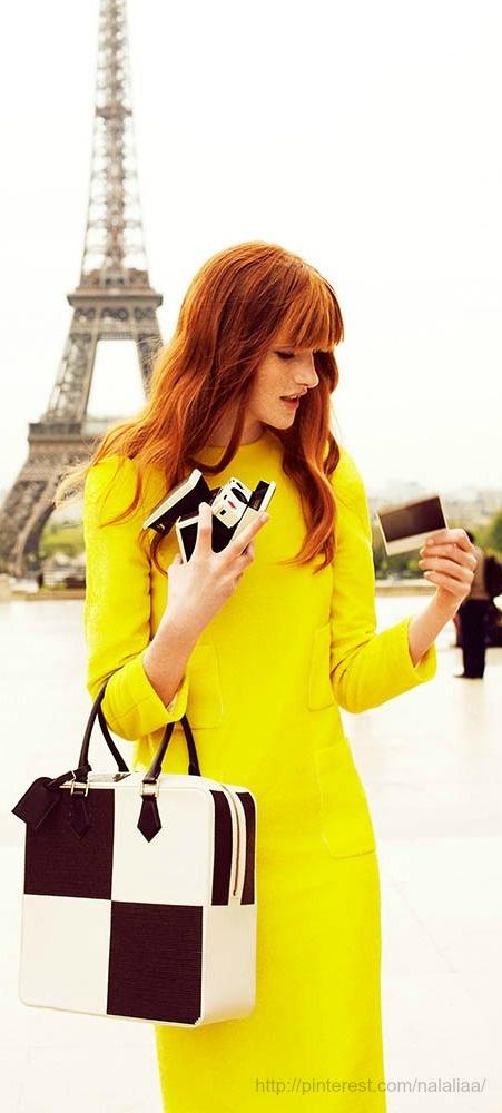 Parisian Chic - Magdalena Jasek for Elle Poland July 2013