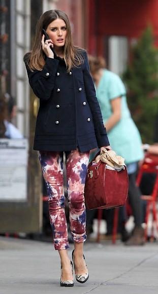 Olivia Palermo wearing Paige denim