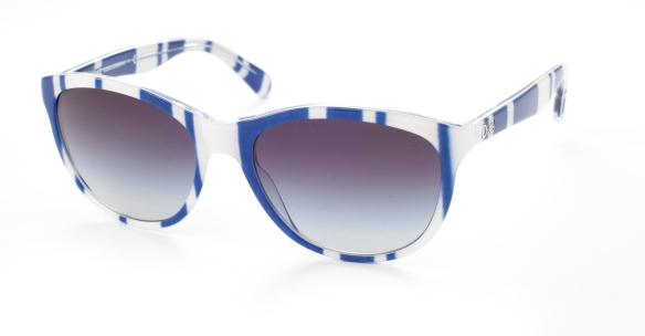 D&G - Stripes blue & white sunglasses