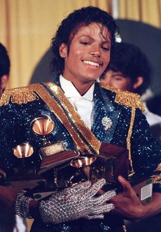 Only Michael Jackson could pull off this many sequins in one outfit. So remember to keep it classy and clean.