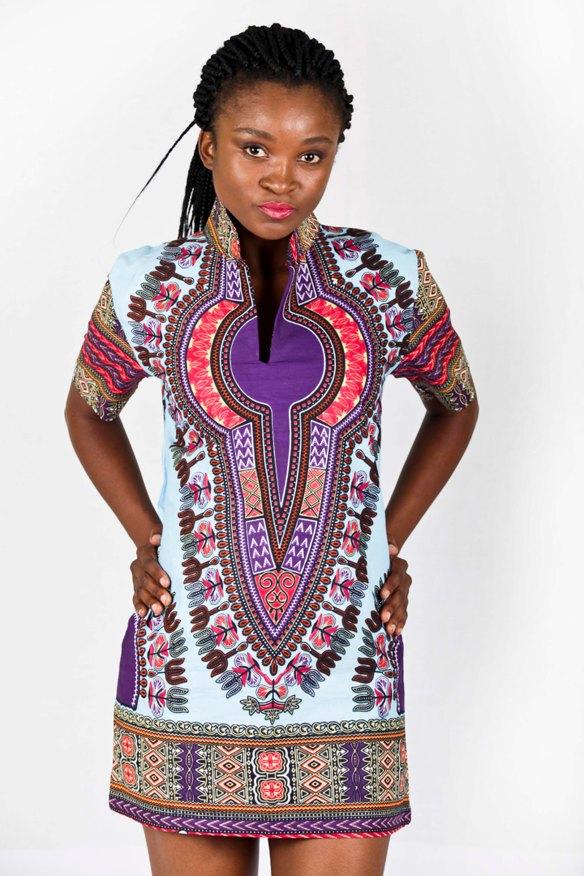 Dashiki inspired dress R450