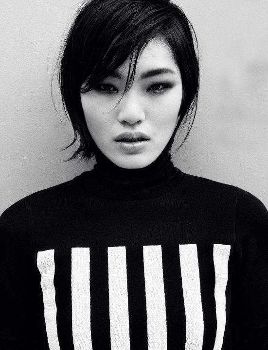 Mod Revolution Magazine: Vogue China February 2013 Photographer: Daniel Jackson Model: Chiharu Okunugi