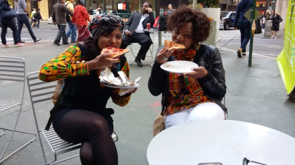 $1 pizza Times Square