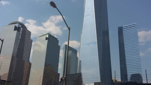 skyscrapers borough of Manhattan