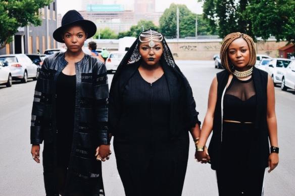 Nandipha, Yoliswa and Thobeka Mqoco
