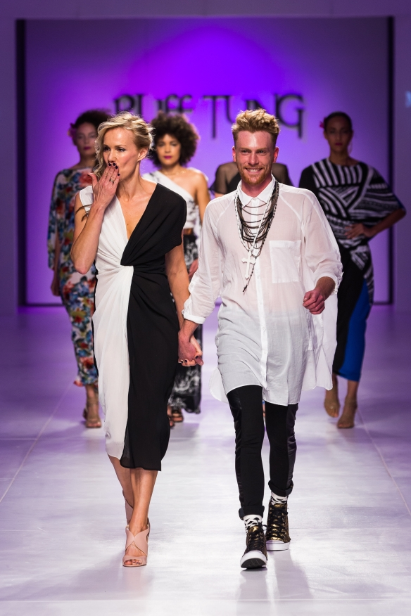 The talented designer duo, Bridget Pickering and Ludwig Bausch. Picture by SDR Photo