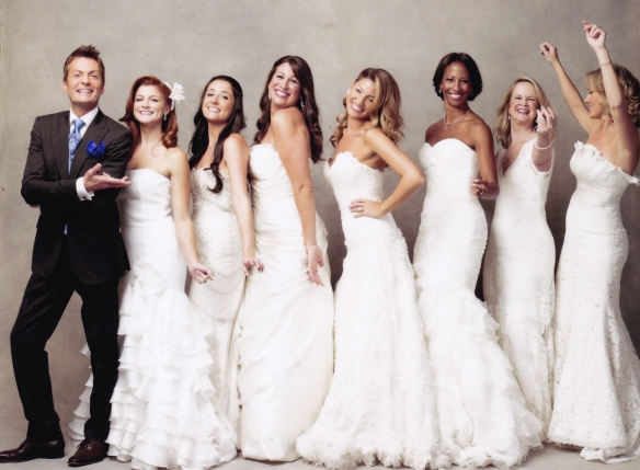 Randy with Brides (Courtesy of Francois Dischinger)