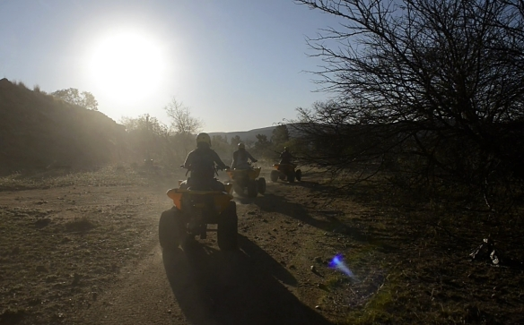 2. Quad Biking in Parys